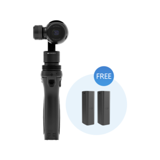 DJI Osmo with 2 Extra Batteries
