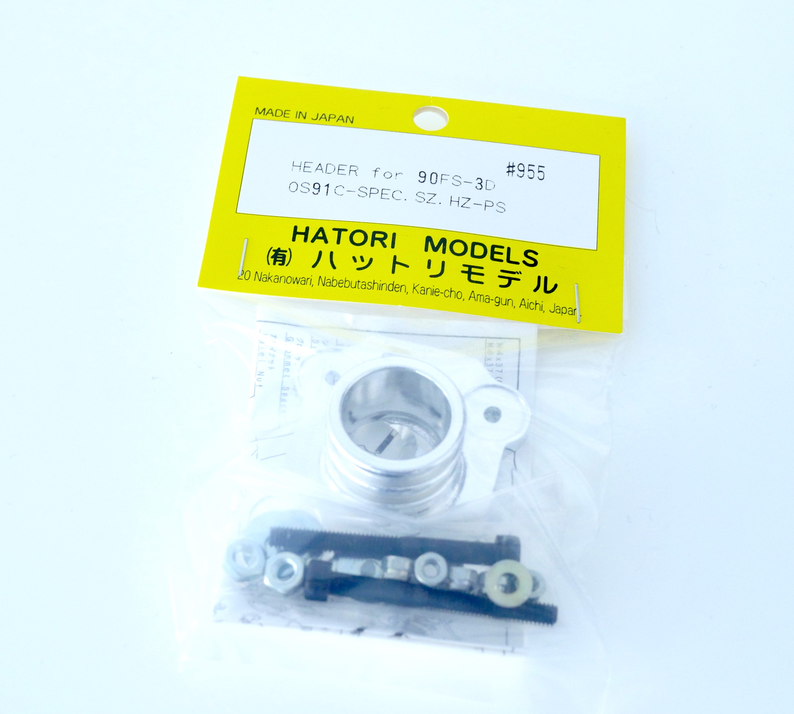 HATORI 955 HEADER for 90FS-3D for OS91C SPEC SZ HZ