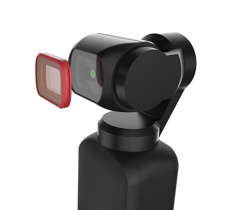 PGYTECH PRO Filters for DJI OSMO Pocket ND/PL SET: ND8/PL, ND16/PL, ND32/PL, and ND64/PL