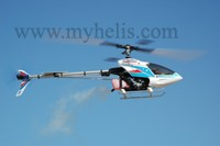HIROBO SST-Eagle FREYA Evolution 80-90 with 680 mm FRP Rotor blades (Carbon Fiber Reinforced)