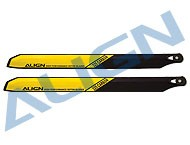 325 Carbon Rotor Blade/Yellow