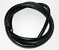 Silicon Wire AWG 12 (1 meter) Black