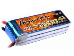 Gens ace 2200mAh 11.1V 55C 3S1P Lipo Battery Pack ( XT-60 Plug )