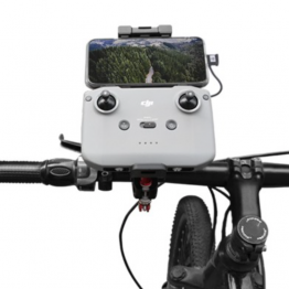 Remote Controller Holder on Bicycle Following Shot Remote Controller Bracket Mount for Mavic Air 2 / Mini 2