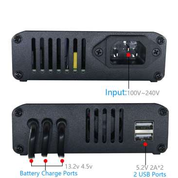 5 in 1 Battery Parallel Charger for DJI Mavic AIR