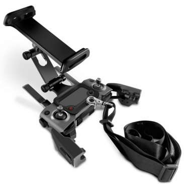 Front Extended Phone Tablet Holder with Lanyard for DJI Mavic 2/Mavic  Pro/Platinum/AIR/Spark