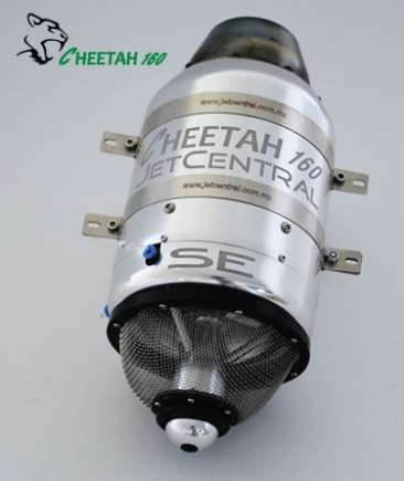 JetCentral Cheetah 160 SE ( 16kg of thrust )
